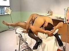 Asian doc shemale fucks in hospital